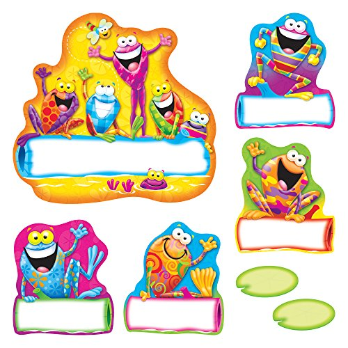 TREND enterprises, Inc. Frog-tastic! Jump-Starters Bulletin Board Set