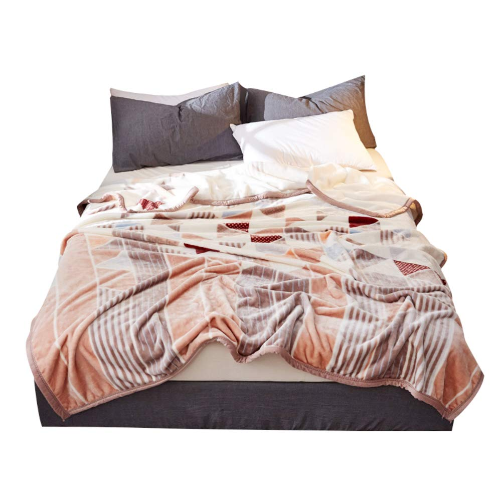 HSBAIS 柔らかい毛布 小さい毛布キングサイズ - 冬暖かい毛布赤ちゃんの大人の休日ギフト寝具ブランケットのためのフランネルウォッシャブル,color_200*230cm B07K781T95 color 200*230cm