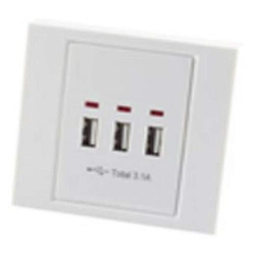 TronicXL Premium Office Line 3 puertos USB, cargador ...