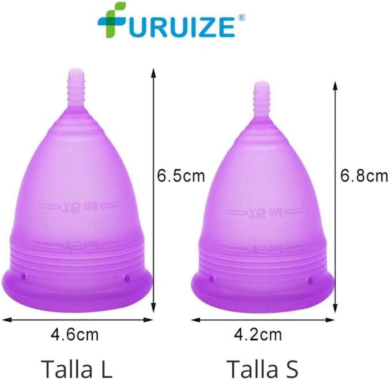 Copa Menstrual Furuize Basic con Taza de Esterilización ...