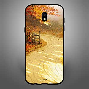 Samsung Galaxy J5 2017 Autumn Forest Pathway, Zoot Designer Phone Covers