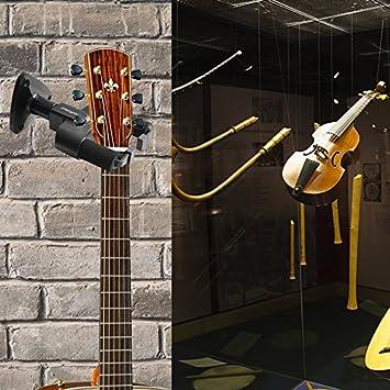 Tamlltide - Percha de pared para guitarra (gancho para estudio de casa), diseño de guitarra acústica: Amazon.es: Bricolaje y herramientas