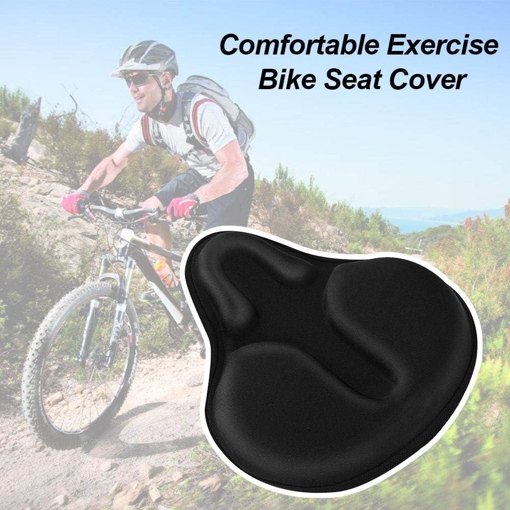 presentimer C/ómoda Funda de Asiento para Bicicleta Protector de Funda de coj/ín de Silicona Gruesa Antideslizante de Gel Suave Accesorios de Ciclismo 28 cm x 26 cm