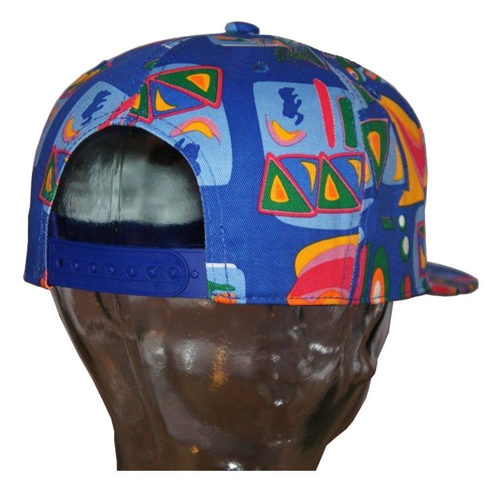 76cac61e State Property Retro Kids Supreme Aztec Snapback Caps, Fresh Prince Flat  Peak Fitted Hats (Blue): Amazon.co.uk: Clothing