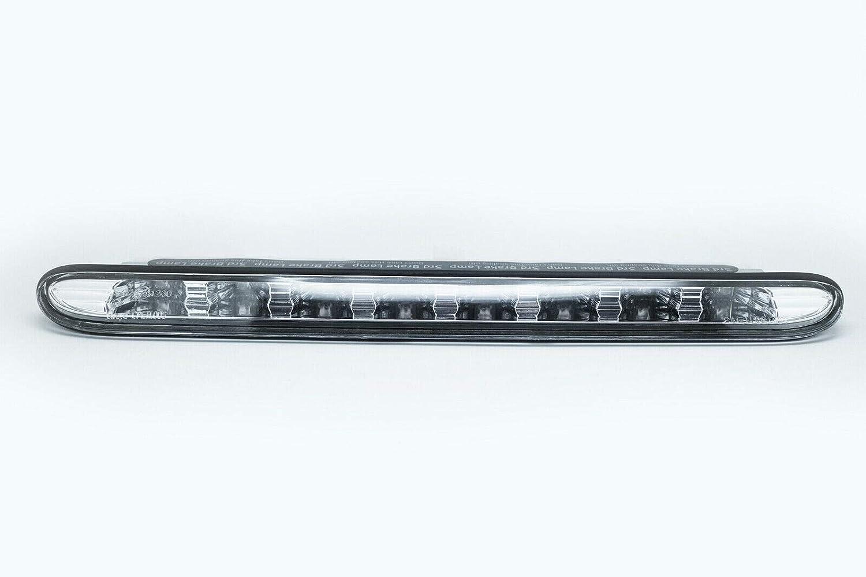 Troisi/ème Tronc de feux de frein LED rouge//lentille transparente pour 01-08 206 cc