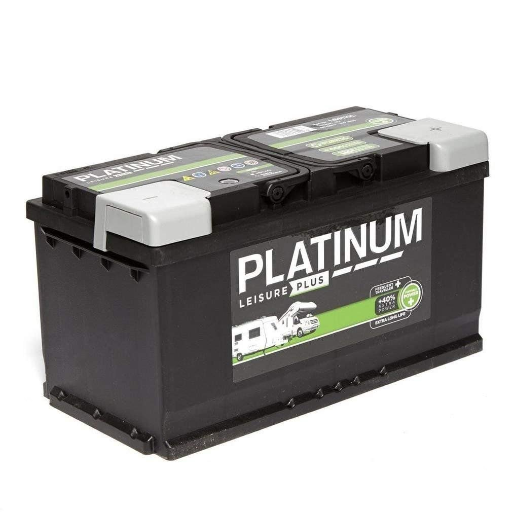 Platinum 12V 100AH LB6110L Deep Cycle Leisure Marine Battery Caravan Motorhome - NCC Verified & Approved Battery