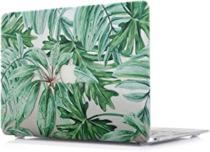 MacBook Pro New 15 Inch Case - Plastic Laptop Accessories Sleeves Protective Pattern Printing Design Hard Cover For Apple MacBook Pro New 15 Inch (Retina display) With Touch Bar Model A1707,Rainforest