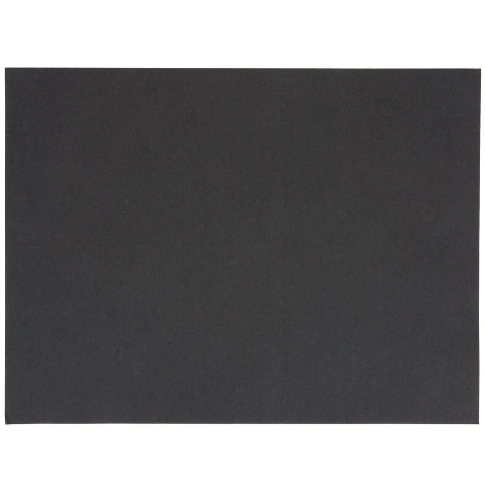 BlackTreat Steak Paper Sheets - 1000/Case 9'' x 12'' 40# By TableTop King