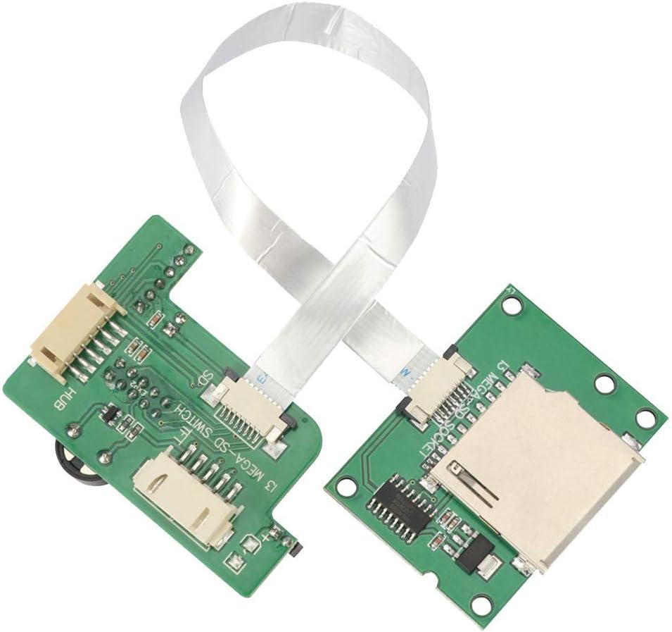 Placa de Transferencia, Componente Fácil Instalación Módulo Accesorios Práctica Duración Tarjeta Verde Repuesto Escáner Eléctrico para I3 Mega S 3D Impresora Show, Free Size