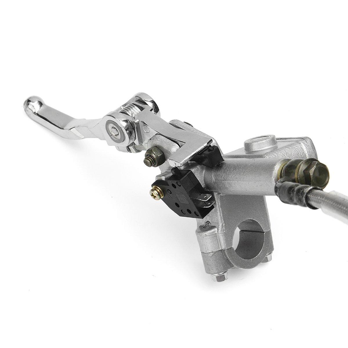 Alamor Universal Frente Hidr/áulico Freno Pinza Disco 125Cc 150Cc Pit Dirt Bike Kit Conjunto