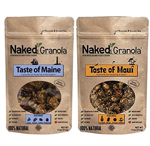 Naked Granola Gluten-Free Taste of Maine and Taste of Maui Bundle