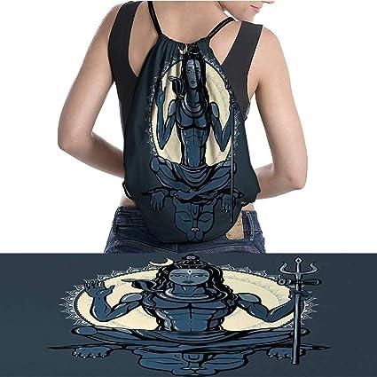Amazon.com: Mochila con cordón para yoga, diferentes poses ...