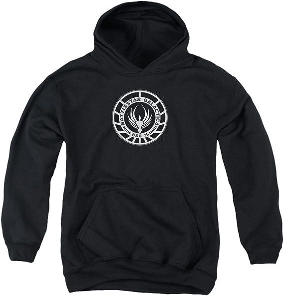 Battlestar Galactica Sweat shirt à capuche avec insigne