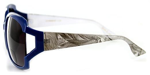 f7614498e9 Amazon.com  Tressa Fashion Bifocal Sunglasses with Large Lenses and Unique  Arm Design for Youthful