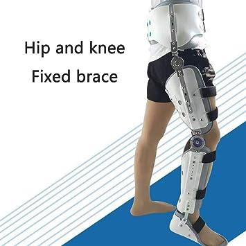 Amazon com: Adjustable Leg Orthosis for Knee/Leg Fracture