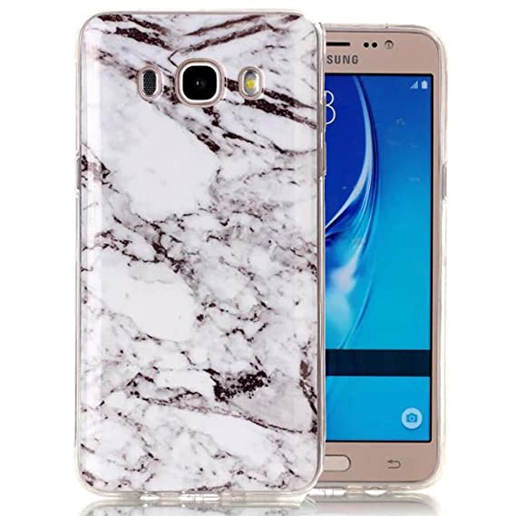 outlet store 23e52 d63e1 Galaxy J3 Case, Galaxy Amp Prime Case, Galaxy Express Prime Case, Ranyi  [Marble Stone Series] Soft TPU Smooth Marble Pattern Case for Samsung  Galaxy ...