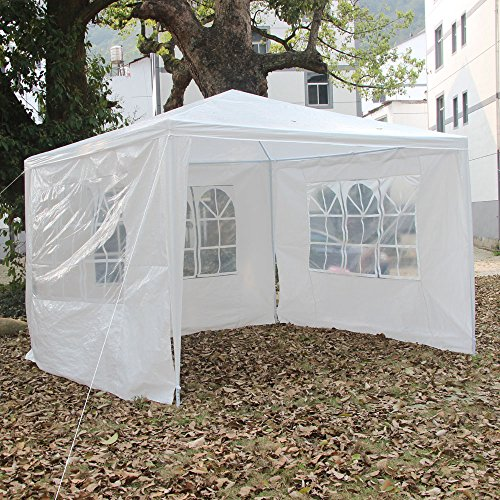 10'x10′ /10'x 20'/10'x30′ Outdoor Canopy Wedding Party Tent Gazebo Heavy Duty Pavilion Cater Event Side Walls & Carrying Bag (10'x10′ #)