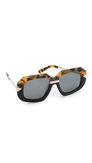 0a835cb97b32 Amazon.com  Karen Walker Women s Hollywood Creeper Sunglasses