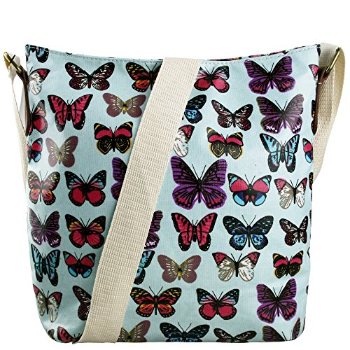 Progettazione Pelle In Farfalle Blu Di Farfalla Tracolla Gomma I Futuri Cross Lulu Signorina Tessuto Testo Per Schoolbags spalla 5PdadvwfqW