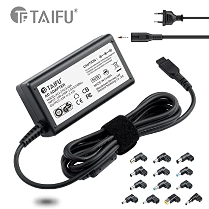 TAIFU65W portátiles y netbooks cargador delgado de voltaje automático selección universal / adaptador de CA / fuente de alimentación con el 13 puerto ...
