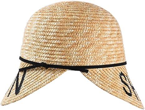 UVYANG Nuevo Verano De Paja Sombreros para El Sol Modelo De Moda ...