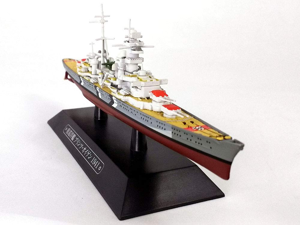 Cruiser Prinz Eugen (Prince Eugene) - Germany 1/1100 Scale Diecast Metal Model Ship (#70)