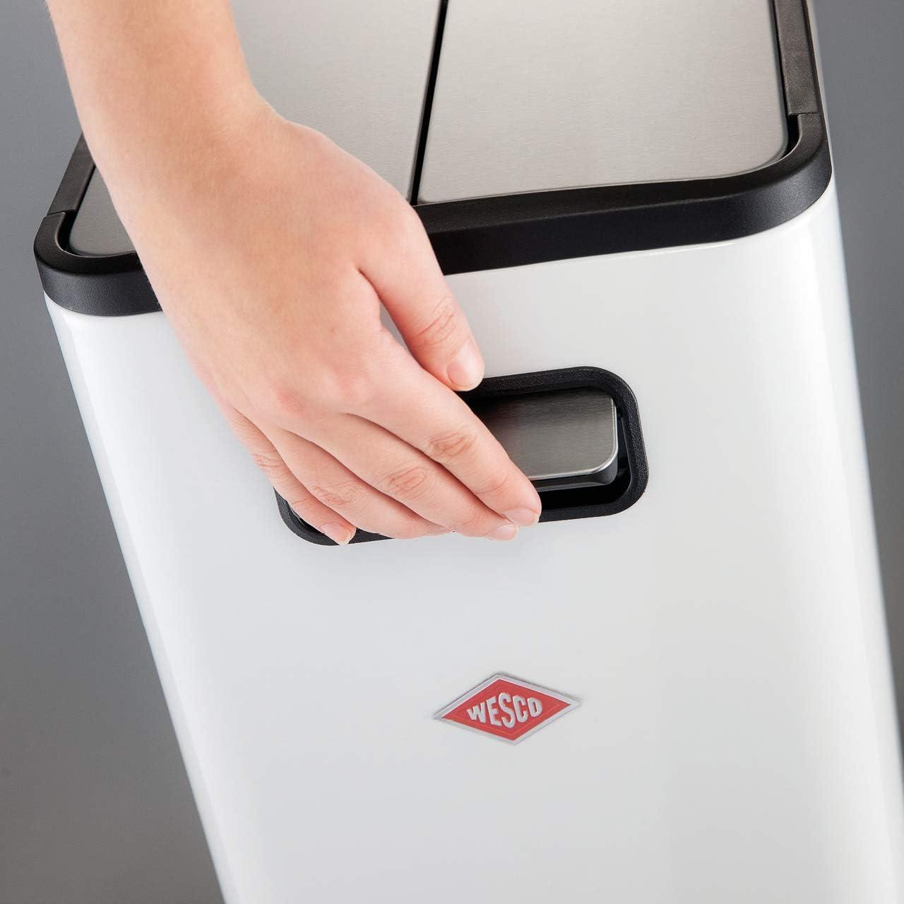 BigDean 2X M/üllsackst/änder AutoFix GELB SCHWARZ 120L M/ülleimer M/üllbeutelst/änder M/üllsackhalter Blauer Gelber Sack Automatik /Öffnung