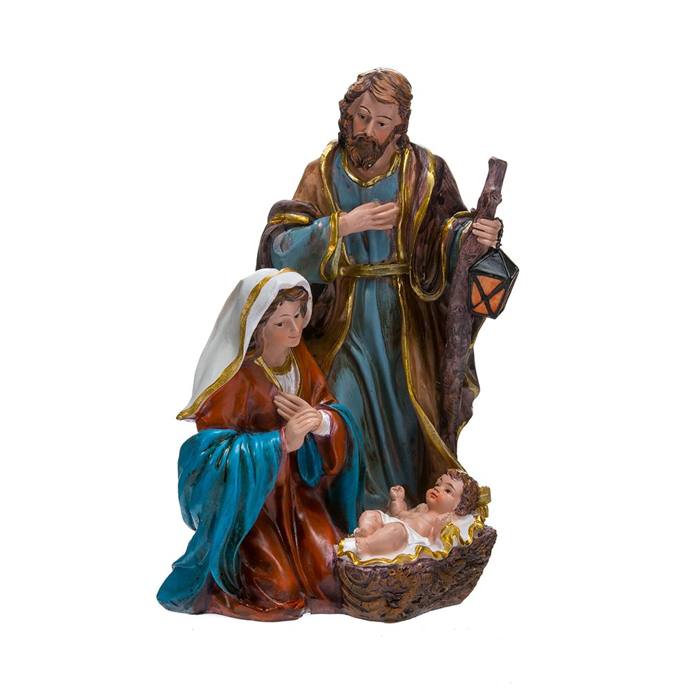 Kurt Adler N0297 8.75'' Resin Holy Family Tablepiece