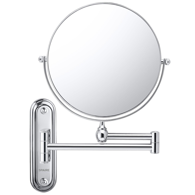 Spaire espejo de ba o 7x espejo de maquillaje rotaci n de for Espejo 20 aumentos