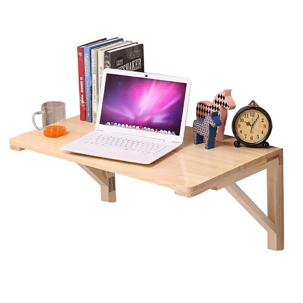 Table pliante murale en bois Table pliante murale Table d'appoint de cuisine Table d'ordinateur de bureau ( taille