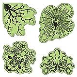 Inkadinkado Stamping Gear Cling Stamps, Halloween
