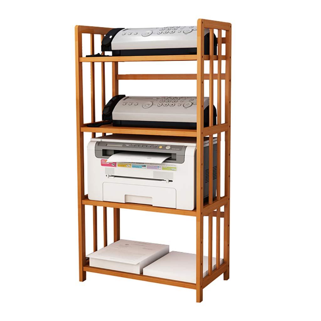 Kitchen Shelf Printer Shelf, Desk File Storage Rack, Modern Minimalist Multi-Layer Rack Phone Rack 60/53cm Kitchen Storage Racks (Size : 5338118cm)