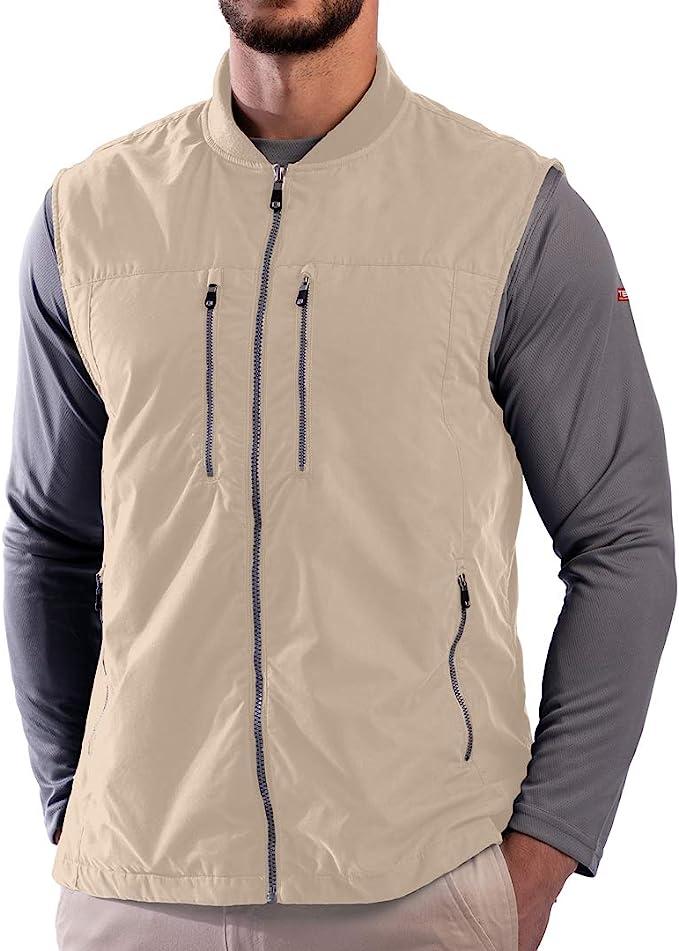 SCOTTeVEST Men's 101 Travel Vest | 9 Concealed Pockets | Anti-Pickpocket