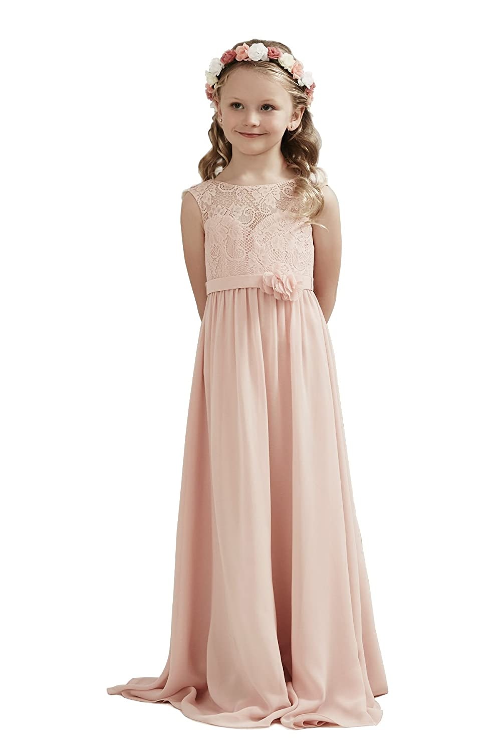 0b05f379729 Top1  Alivedre Lace Chiffon Junior Bridesmaid Dress Wedding Party Girl  Dresses. Wholesale Price 38.99 -  46.00. Fabric lace chiffon. Available in  US size ...