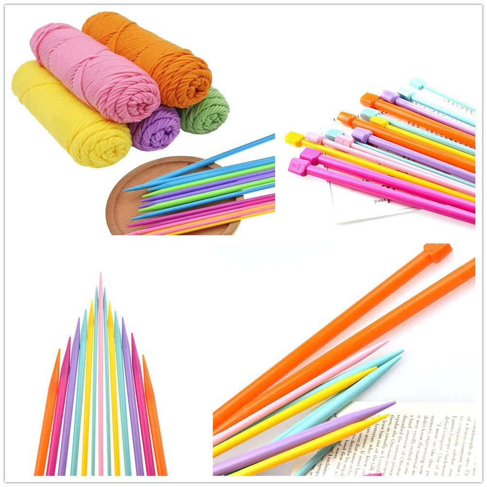 LissomPlume Knitting Needles Weave Craft Sweater Sewing Needle Set for Beginners