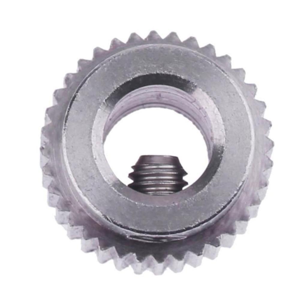 Dovewill 2xFeedstock Extruder Wheel Hobbed Drive Gear for MK7 MK8 3D Printer 36 Teeth