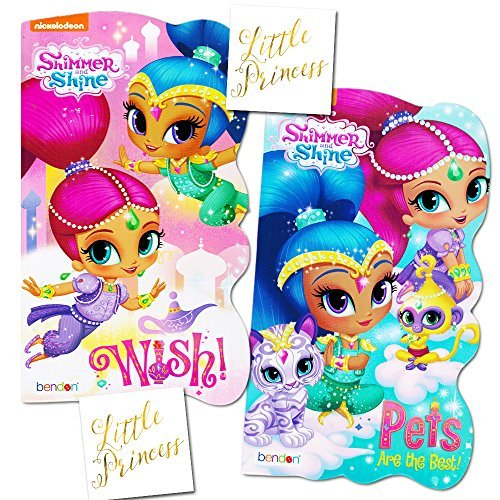 Shimmer Fan (Shimmer and Shine Board Books Set - 2 Books and Licensed)