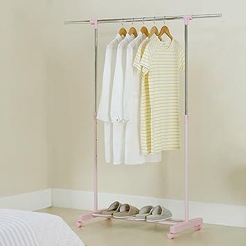 Amazon.com: GSHWJS - Perchero ajustable para colgar ropa con ...