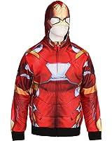 Captain America, Iron Man Civil War Reversible Hoodie