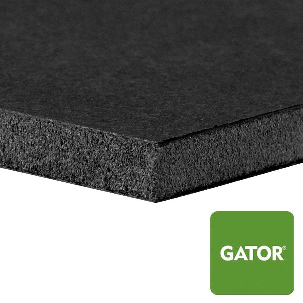 Black 48 x 96 in. Gator Board by Lamination Depot