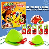 Janly Funny Take Card-Eat Pest Catch Bugs Game Desktop Games Board Games for Kids