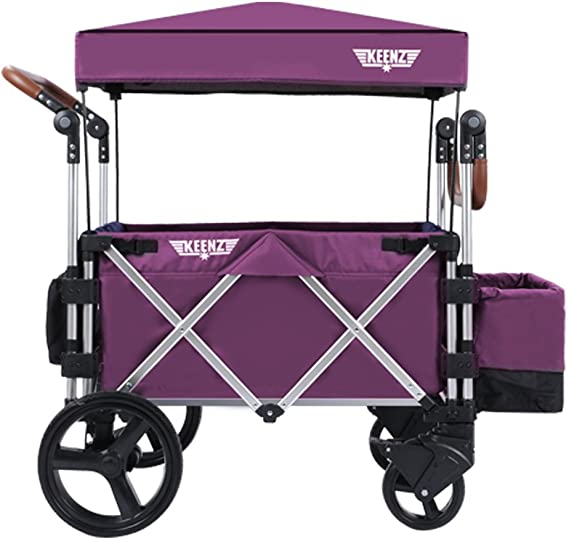 Keenz Stroller Wagon – 7S Pull/Push Wagon Stroller – Safe and Secure Baby Wagon Stroller and Stroller for Big Kids – Versatile Wagon Stroller Ideal for Special Needs
