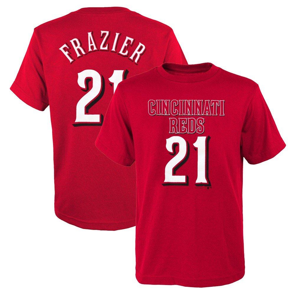 【海外輸入】 Outerstuff ) Todd Frazier MLB Philadelphia Phillies Red MLB X Jersey TシャツBoys Youth ( X - 2 X L ) XS/4-5 B07BTT39KQ, ミョウコウムラ:80876ca3 --- 4x4.lt