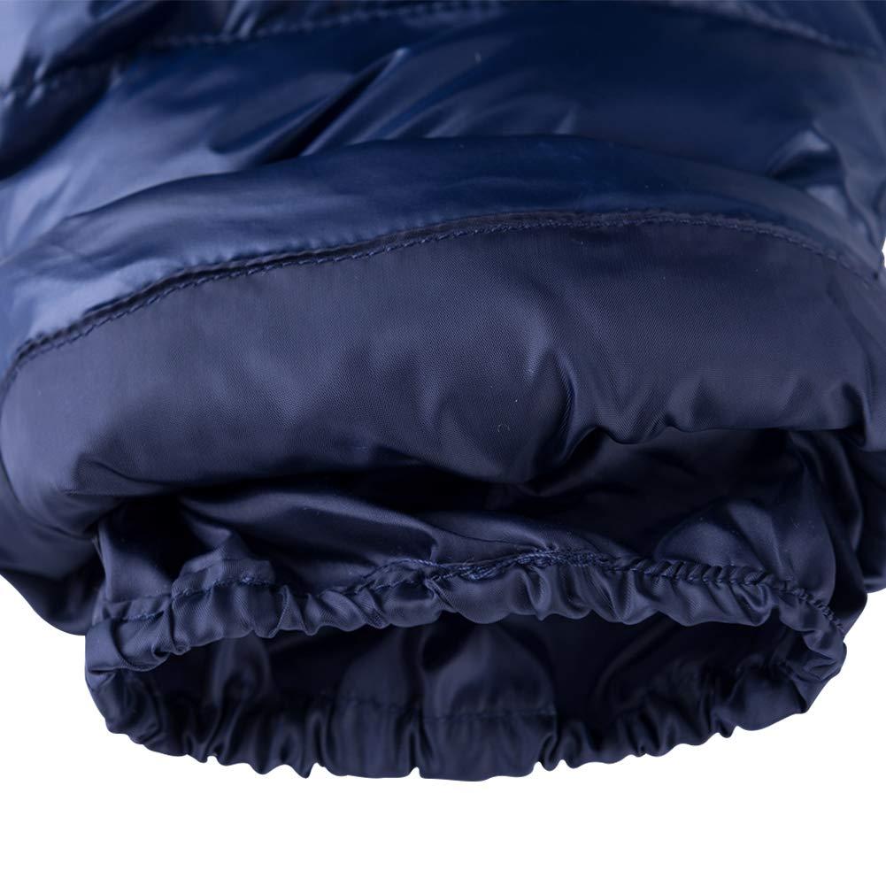 Pantaloni da Neve Piumino SANMIO Giacca Invernale da Bambino Unisex Giacca da Sci Calda Tuta da Sci Tuta da Sci con Cappuccio