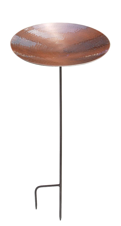 Achla Designs Burnt Copper Birdbath with Stand BCB-01-S