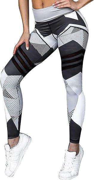 Donna Abbigliamento Sportivo Palestra Yoga Workout Vita Alta Lungo Pantaloni