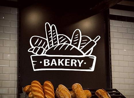 84x57 cm Pastelería Panadería Tatuajes de pared Panadería ...