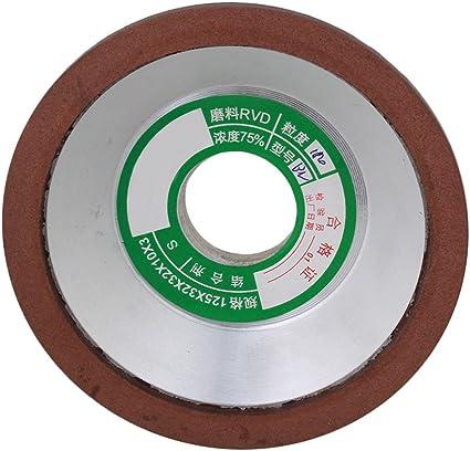 150# Mola diamantata in metallo CBN per affilare utensili in acciaio ad alta velocit/à grana 80//100//150//600 diametro 150 mm