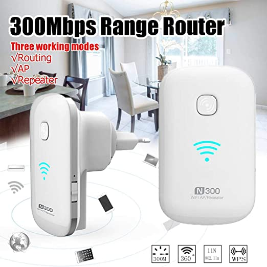 Wifi Extender Range Repeater Wireless Amplifier 300Mbps Router Signal Booster US