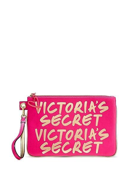 1d72b0639 Victoria's Secret Cosmetiquera Neceser Rosa Dorado: Amazon.com.mx ...